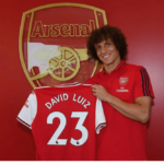 David Luiz signs for Chelsea