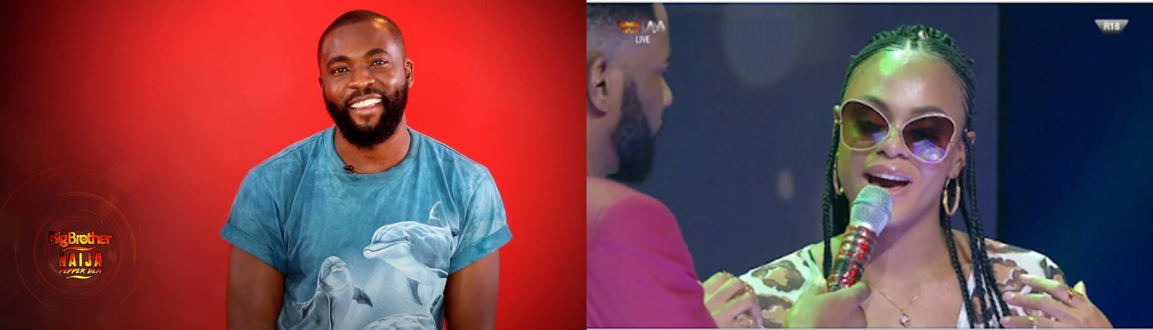 BBNaija 2019: Gedoni and Jackye Evicted