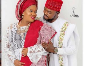 Toyin Abraham weds Kolawole Ajeyemi - Photos