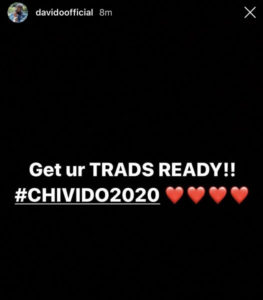 Davido to wed Chioma in 2020