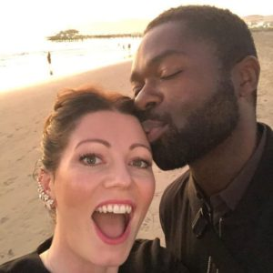 David Oyelowo and wife photo