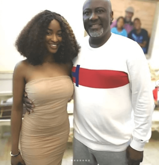 Dino Melaye and evicted housemate