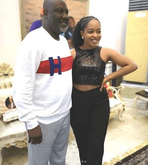 Dino Melaye and Enkay photo