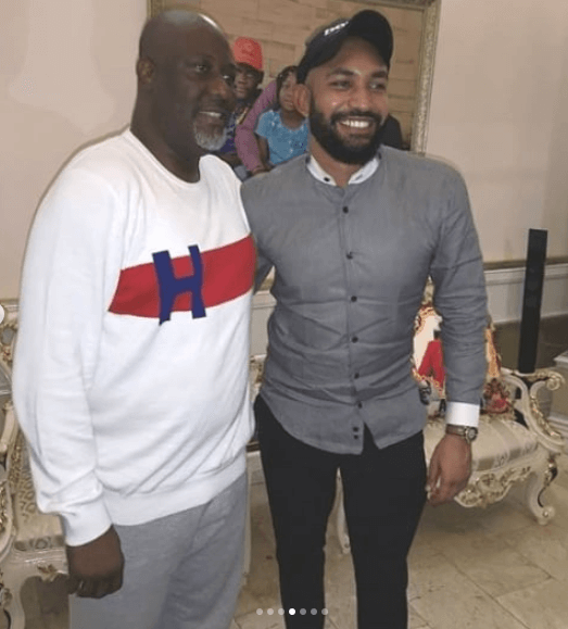 Dino Melaye and Jeff photo