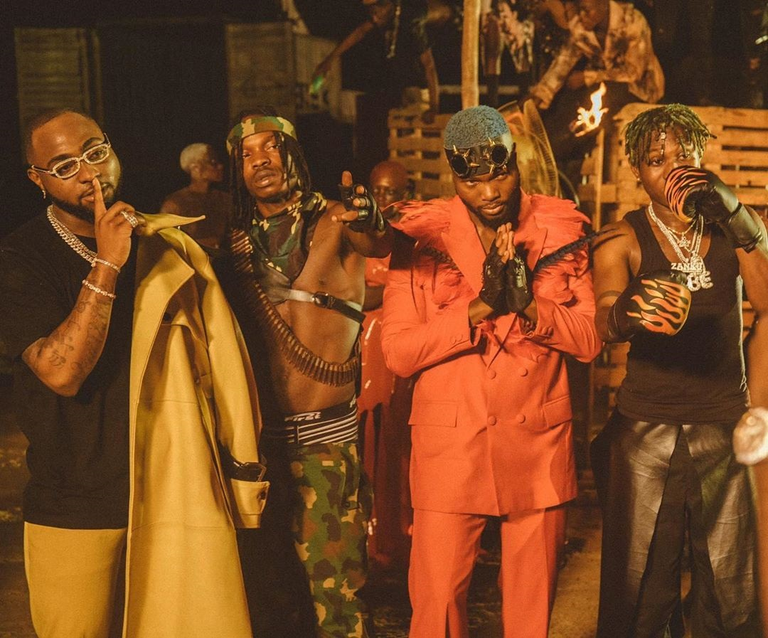 DOWNLOAD MP4 VIDEO: Davido - Sweet In The Middle Ft. Naira Marley, Zlatan, WurlD