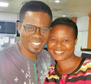 Eniola Olaniyan and wife