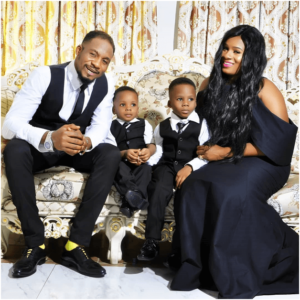 Junior Pope, wife & Sons