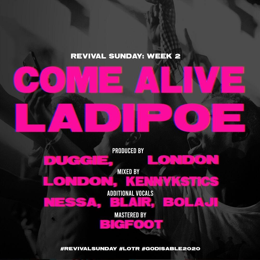 DOWNLOAD MP3: LadiPoe - Come Alive