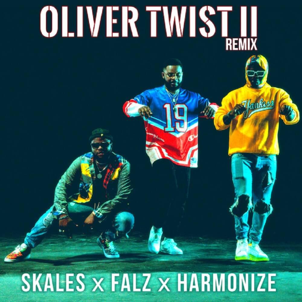 DOWNLOAD MP3/MP4 Skales - Oliver Twist (Remix) Ft. Falz, Harmonize