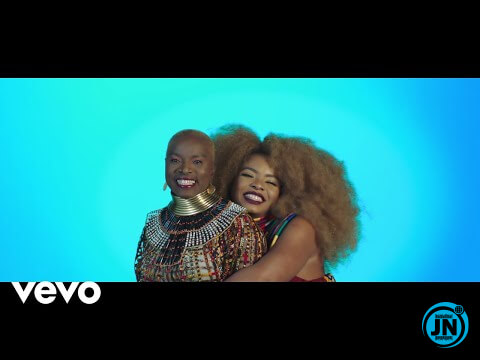 DOWNLOAD MP4 VIDEO: Yemi Alade - Shekere Ft. Angelique Kidjo