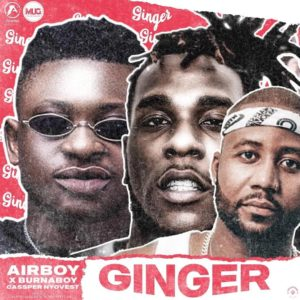 Airboy - Ginger Ft. Burna Boy, Casper Nyovest Mp3 Download