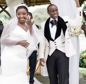 Catherine Kamau and husband Philip Karanja