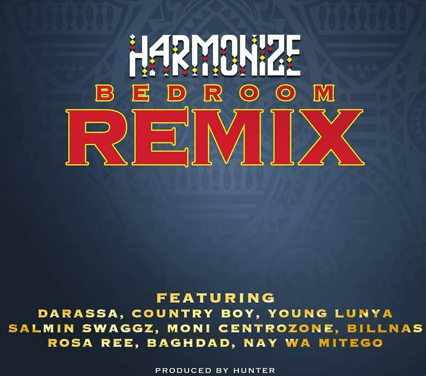 Download Harmonize - Bedroom (Remix) Ft. Darasa, Country Boy, Young Lunya, Moni, Rosa Ree & Baghdad Mp3