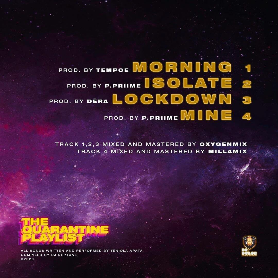 Download Teni - Lockdown Ft. DJ Neptune Mp3