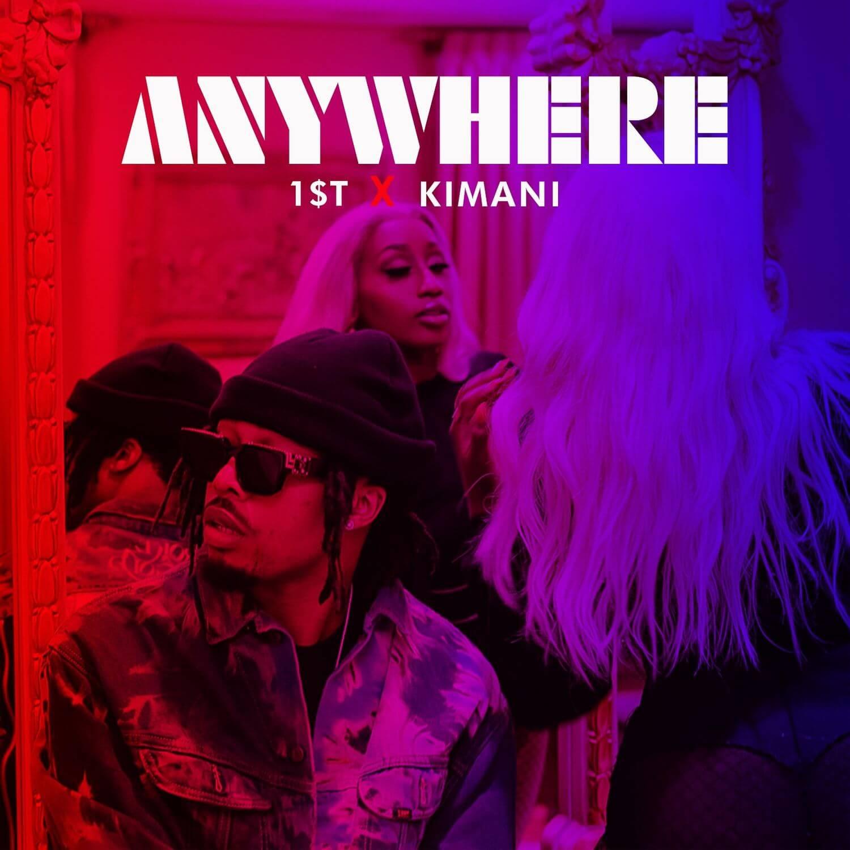 Download Victoria Kimani x FKI 1st - Anywhere Mp3