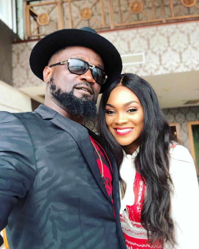 Jude Okoye and Wife photo