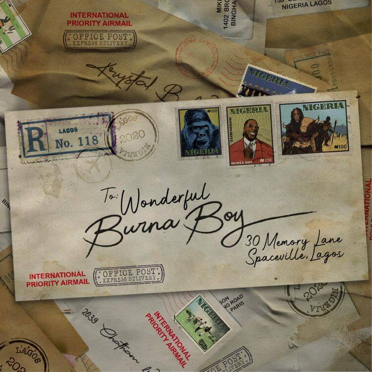 Download Burnaboy - Wonderful Mp3