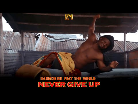 Download Harmonize - Never Give Up Ft. The Word Mp4