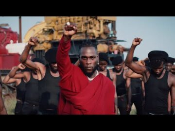 VIDEO: Burna Boy - Monsters You Made Ft Chris Martin Mp4 Download
