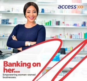 Erica access bank advert