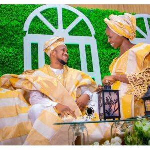 Lawrence Oyor and Darasimi photo