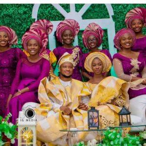 Lawrence Oyor and Darasimi wedding photos