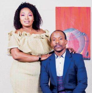Mduduzi Mabaso and wife Fatima