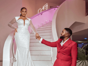 Brunella Oscar and williams Uchemba wedding