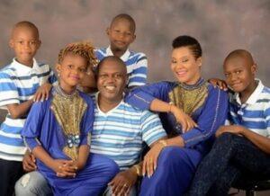 Nkiru Umeh and family