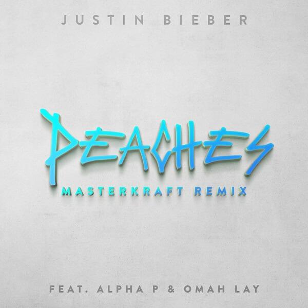 Justin Bieber - Peaches (Masterkraft Remix) Ft. Omah Lay, Alpha P Mp3 download